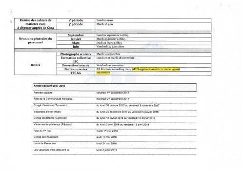 Agenda administratif 2017-2018-2